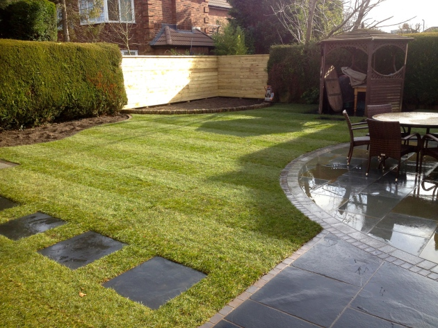 Garden design Allerton