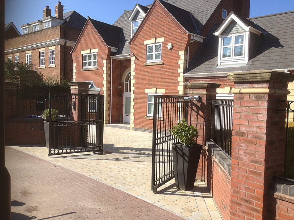 Newly quarried York stone driveway Warrington, Cheshire