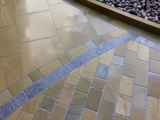 Yorkstone driveways and patios Liverpool and Cheshire
