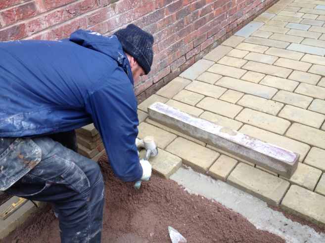 York stone installers Liverpool, Merseyside and Cheshire.