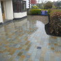 Natural sandstone sett driveway Liverpool