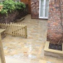 York stone garden paving Liverpool