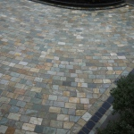 Natural quartz setts