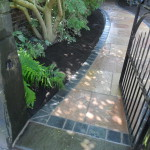 Natural stone pathway Liverpool