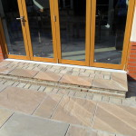 Bespoke natural stone step