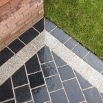 Limestone sett (cobbled) driveway Liverpool