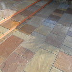 Natural stone patio Merseyside