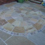 Sandstone circle feature