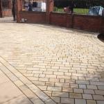 York stone driveway installers Cheshire
