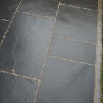 Black limestone patio Liverpool