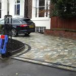 Stone sett driveway Liverpool
