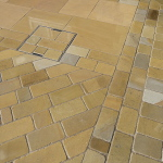 York stone setts and paving