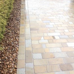 Stone setts by driveway company in Cheshire