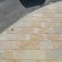Natural sandstone driveway Liverpool