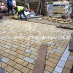 Driveway in Aigburth under construction