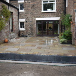 Natural stone patios and flagging gardens Liverpool