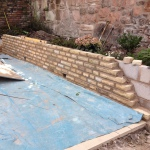 Garden walling and brickwork Liverpool