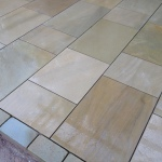 Flagged stone patios