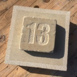 Sandstone house number
