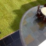 Stone patio design Liverpool