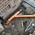 New drains in Liverpool