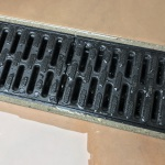 Linear drainage channels Liverpool