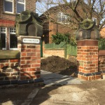 Lime mortar brick and stoneworks